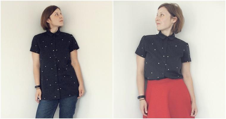 jedna koszula - dwie stylizacje