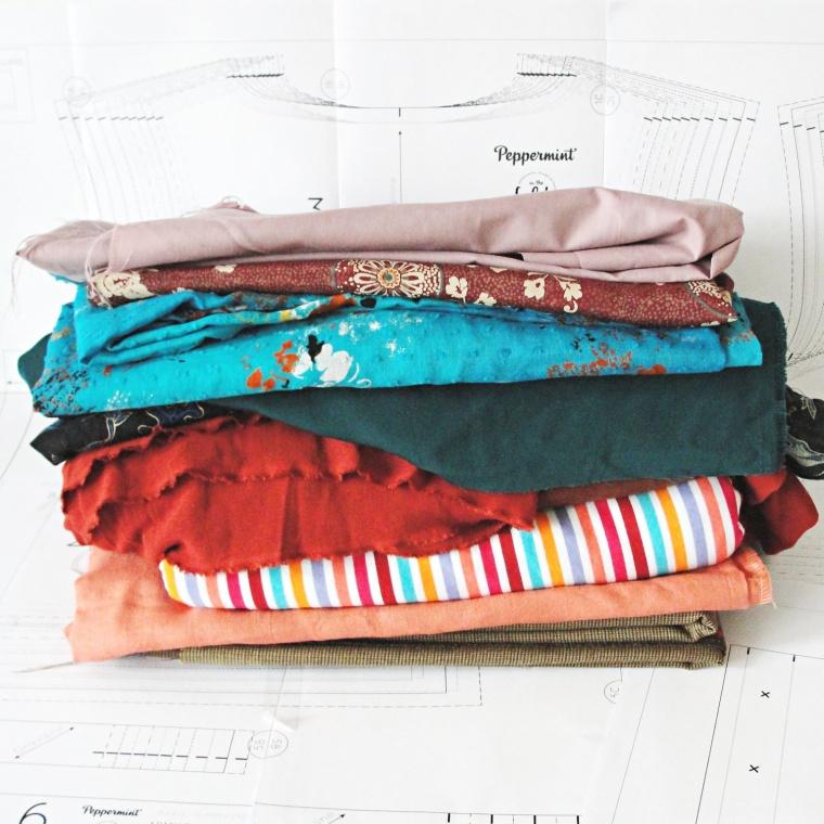 second hand fabrics