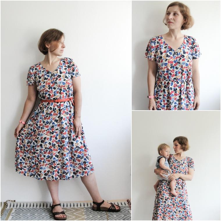 sukienka swobodna wersja B