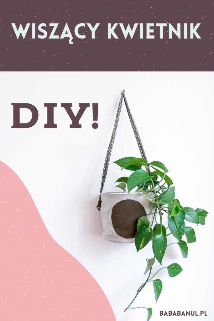 Kwietnik DIY instrukcja szycia